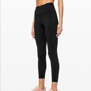 Lululemon fast and free hr tight 25